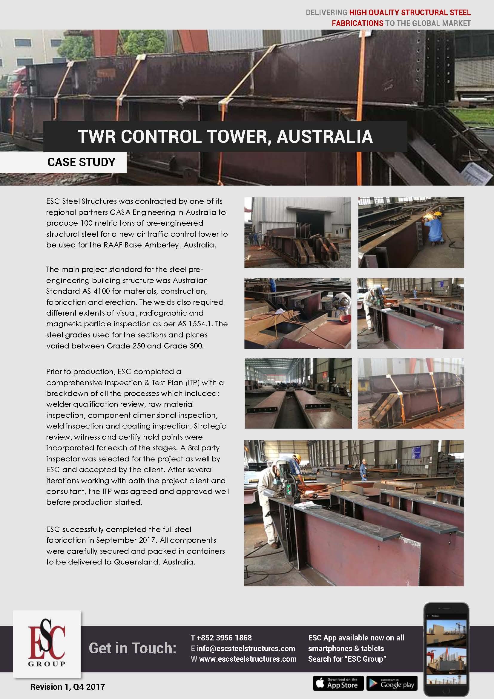 Torre de Controlo TWR, Austrália