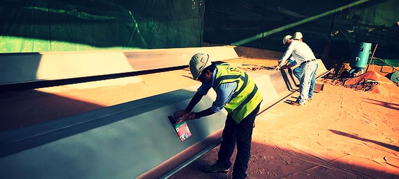 Sheet piles inspection