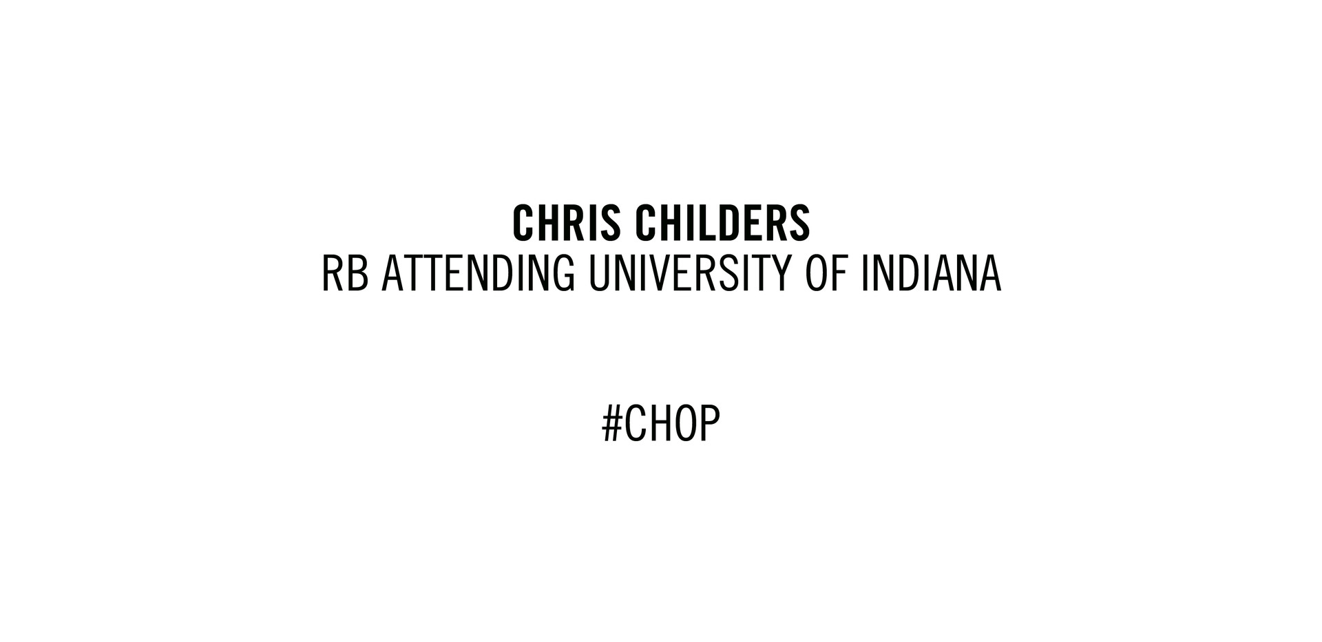 Chris Childers