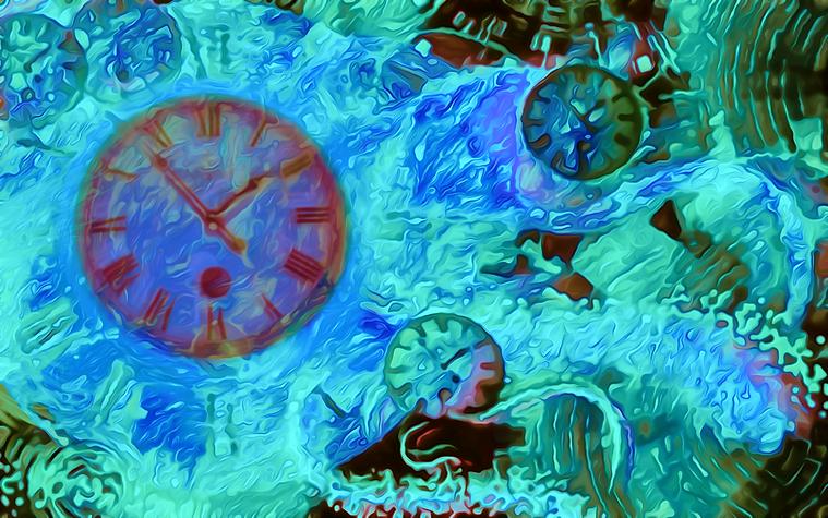Πίνακας Time Bending #31