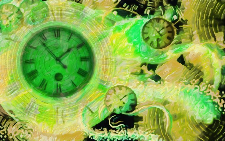 Πίνακας Time Bending #27