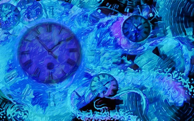 Πίνακας Time Bending #17