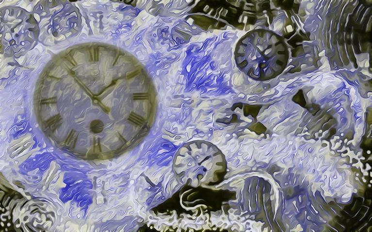 Πίνακας Time Bending #14