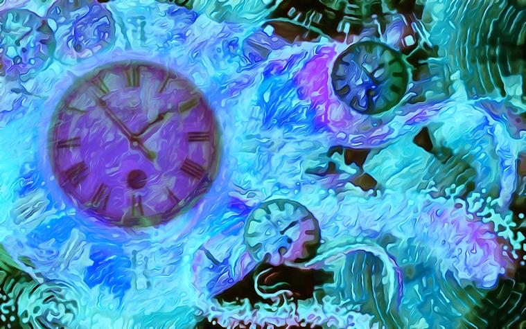 Πίνακας Time Bending #32