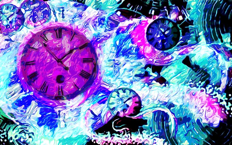 Πίνακας Time Bending #12