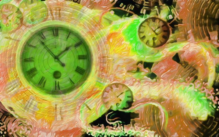 Πίνακας Time Bending #30