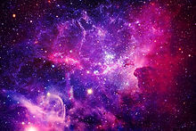 Bursting Galaxy - Elements of This Image