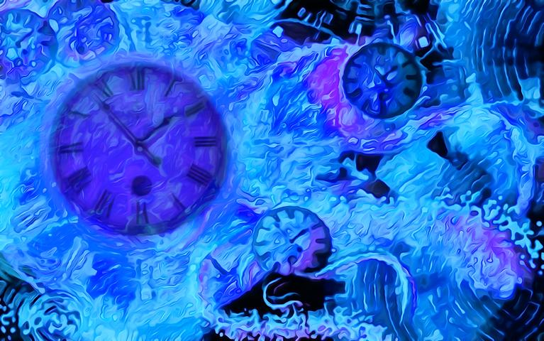 Πίνακας Time Bending #15