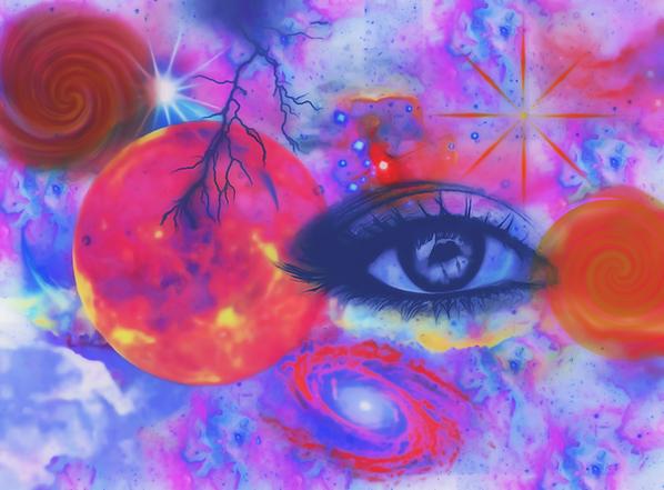 Πίνακας Είσαι το Σύμπαν #2