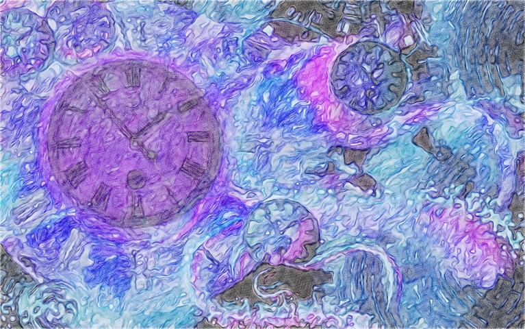Πίνακας Time Bending #16