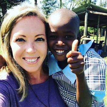 Lily Blevin takes Sneham to Kenya