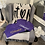 Thumbnail: #Surrendered V-Neck Shirt - Purple