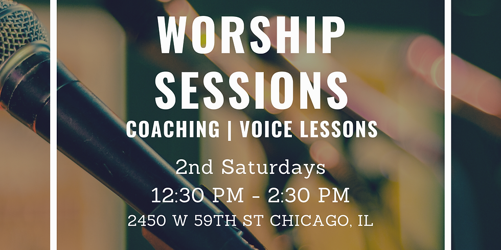 Worship Sessions 2020 - October