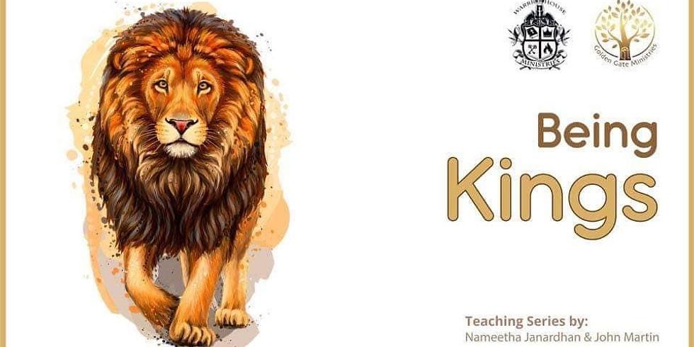 Being Kings w/ Nameetha Janardhan & John Martin