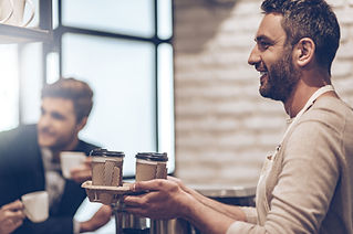 Barista with Coffee