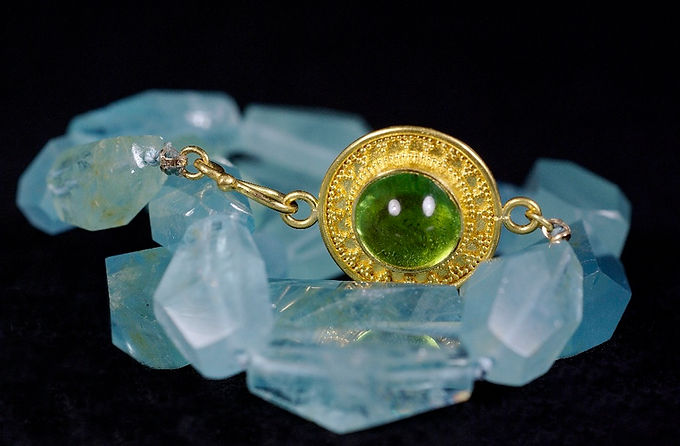 handmade 22kt gold jewelry by Mark Sanne