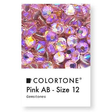 Pink Aurora Borealis - Size 12 - Colortone Gemstones