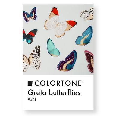 Clear Greta butterflies foil