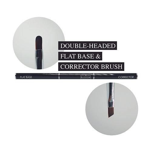 Double headed flat base & corrector brush
