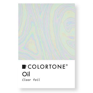 Oil Clear foil