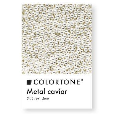 Metal caviar Silver 1mm