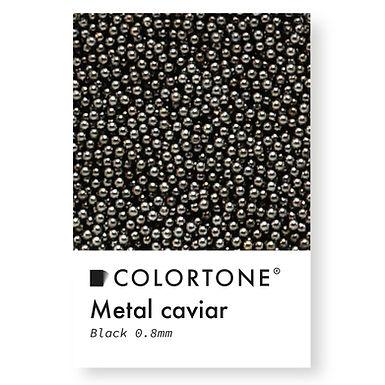 Metal caviar Black 0,8mm