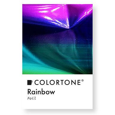 Rainbow foil