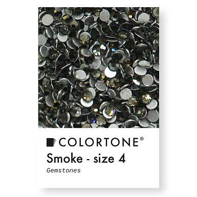 Smoke - Size 4 - Colortone Gemstones