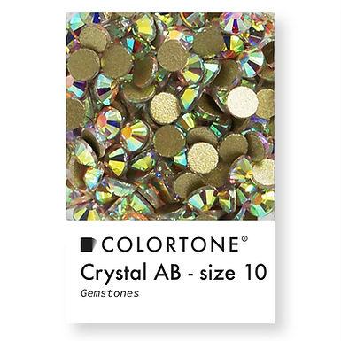 Crystal Aurora Borealis - Size 10 - Colortone Gemstones