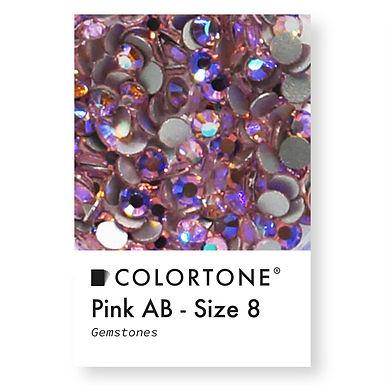 Pink Aurora Borealis - Size 8 - Colortone Gemstones