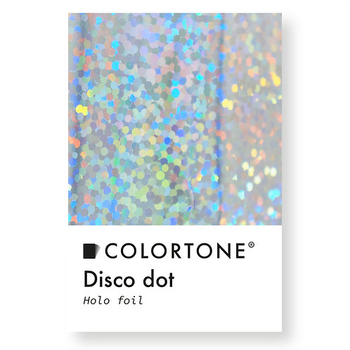 Disco dots Holo foil