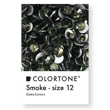 Smoke - Size 12 - Colortone Gemstones