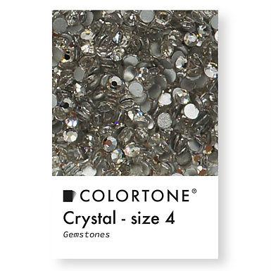Crystal - Size 4 - Colortone Gemstones