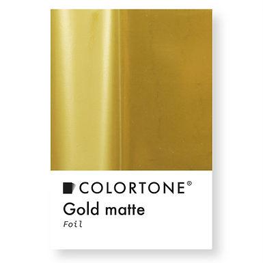 Gold matte foil
