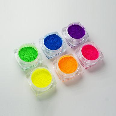 Neon pigmenten set