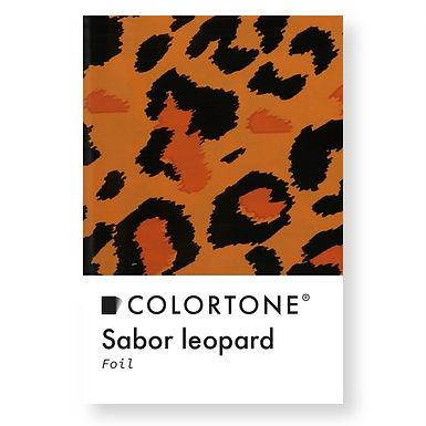 Sabor leopard foil