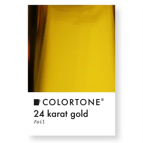 24 karat gold foil