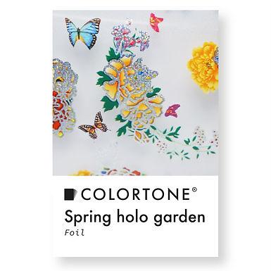 Clear Spring holo garden foil