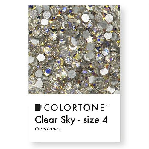 Clear Sky - Size 4 - Colortone Gemstones