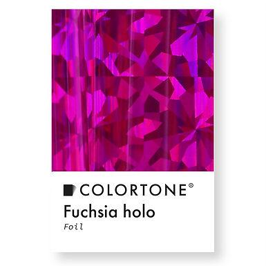 Fuchsia holo foil