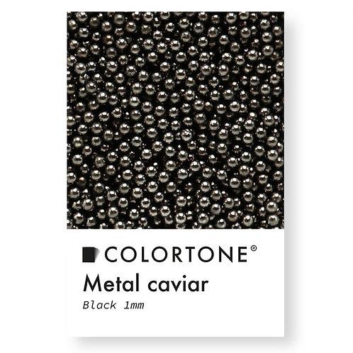 Metal caviar Black 1mm