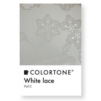 White lace foil