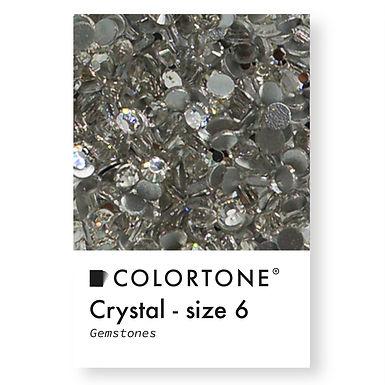 Crystal - Size 6 - Colortone Gemstones