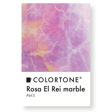 Rosa El Rei marble foil
