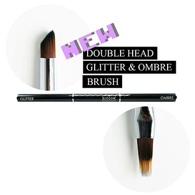 Double head GLITTER & OMBRE brush