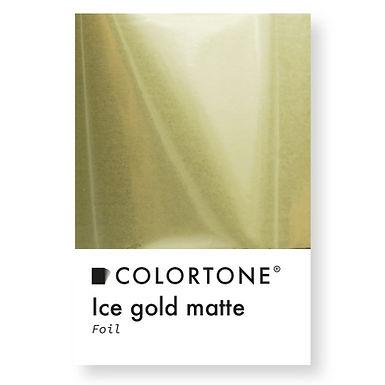 Ice gold matte Holo foil