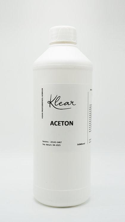 Klear Aceton 500ml