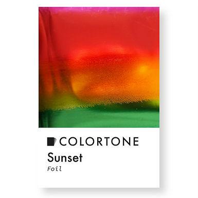 Sunset foil