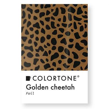 Golden cheetah foil