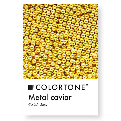 Metal caviar Gold 1mm
